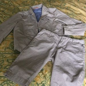 Boys Suit with Shorts